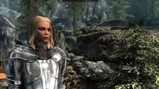 [SKYRIM MOD #17] Рыцарская броня из Dark Souls - TES V FHD