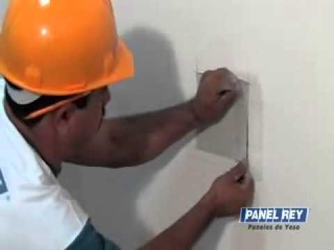 Como fazer manutenção parede de Drywall Panel Rey
