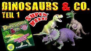 DeAgostini ® Dinosaurs & Co - Super Maxxi Edition - Teil 01 !!! XXL Dinosaurier !!!
