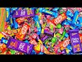 LOT'S OF CANDIES, KINDER JOY SURPRISE EGGS AND MORE CHOCOLATE | MOUTH WATERING VIDEO