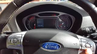 How to activate Ford Mondeo MK4 zone central locking