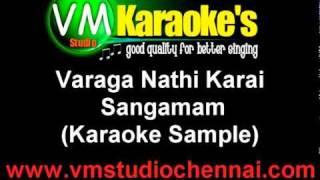 Tamil Karaoke - Varaga Nathi Karai (Sample)