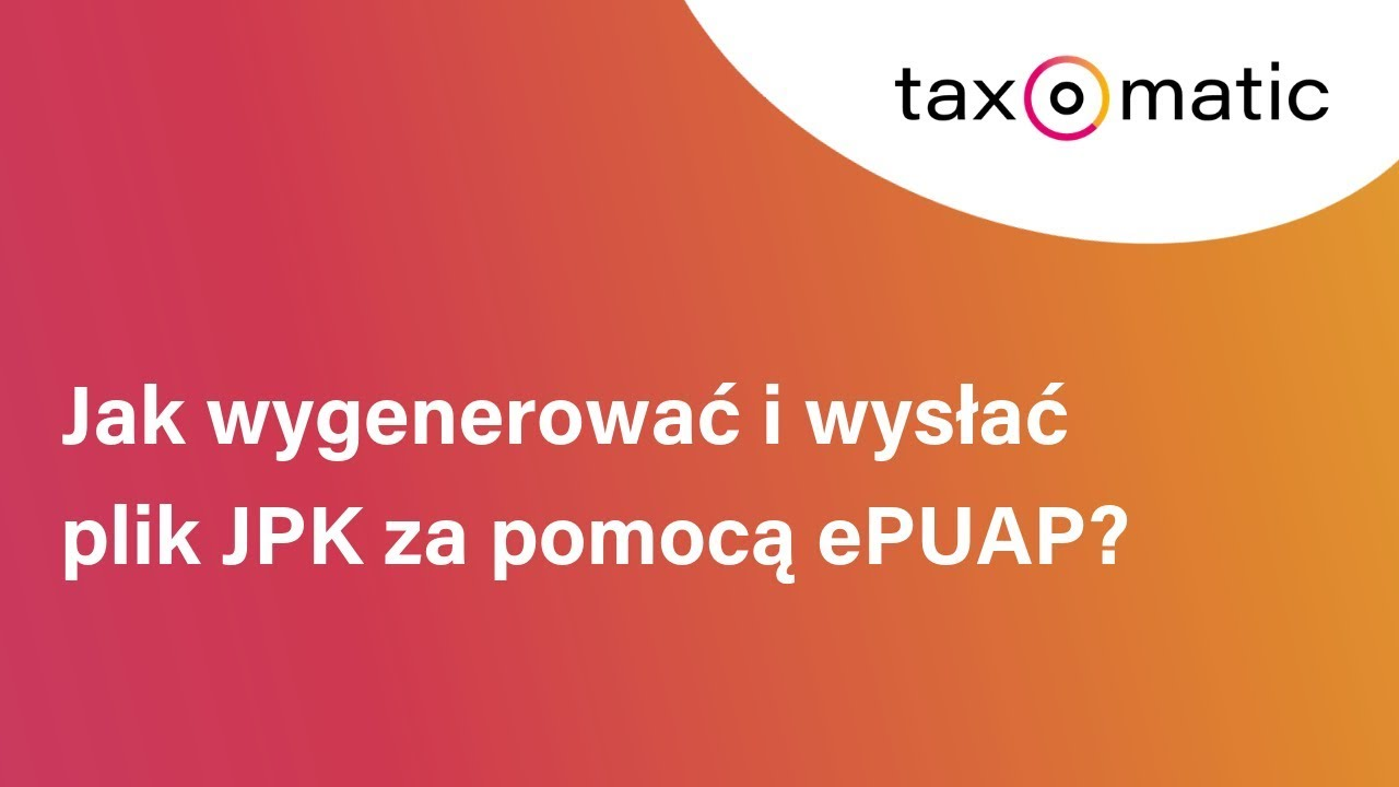 Zobacz video taxomatic.pl
