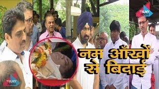 Taarak Mehta Ka Ooltah Chashmah के सभी कास्ट ने दी डॉ हंसराज हाथी को अंतिम बिदाई ..