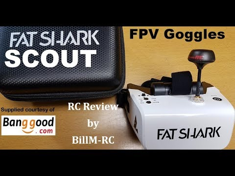Fatshark Scout FPV Goggles review - Great Quality FPV Headset