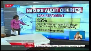 KTN Prime: 47 days of Accountability focuses on Nakuru county's unscrupulous audit queries
