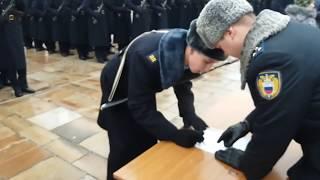 Присяга  президентского полка 9 декабря 2017