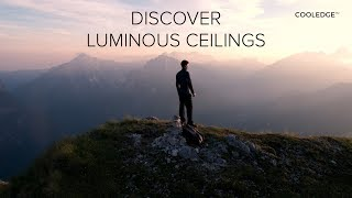 Discover Cooledge Luminous Ceilings – Interaction between light & architectural diffusion materials