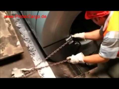 ProtecCargo - Der neuartige Metall Kantenschutz schont Spanngurte Zurrgurte Ketten Gurte Spannketten