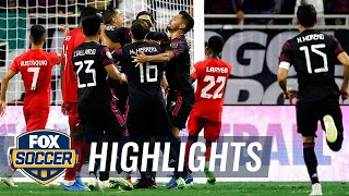 Herrera's late winner lifts Mexico over Canada, 2-1, sets up US rematch | 2021 Gold Cup