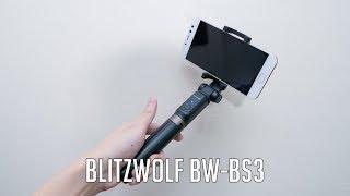 BlitzWolf BW-BS3 Review | Bluetooth Tripod Selfie Stick ???