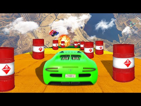 Drive Down And DODGE The EXPLOSIVES! (GTA 5 Funny Moments)