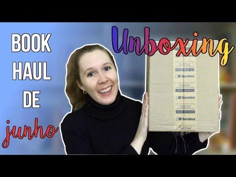 Unboxing Book Haul de Junho | Leituras de Deni