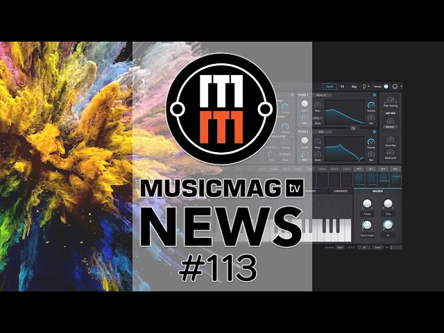 MUSICMAG TV NEWS #113: OP-1 в