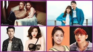 20 Korean celebrity couples who announced their relationships in 2016