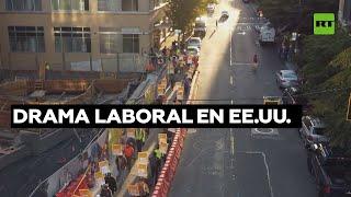 EEUU. HUELGAS Y PROTESTAS POR MEJORAS SALARIALES