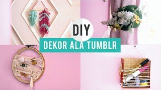 DIY DEKOR KAMAR MINIMALIS ala TUMBLR PART 2 [ DIY INDONESIA ]