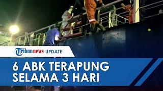 6 ABK Terapung di Perairan Sultra Selama 3 Hari Lantaran Kapal Bocor Dihantam Badai: Minum Air Laut