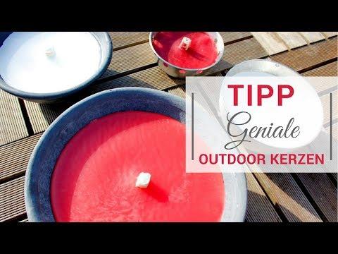 Wind- und wasserfeste Outdoor Kerzen + 5% Gutscheincode #wohnALARM/ gesponsertes Produkt