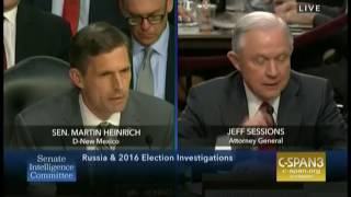 """Attorney General Jeff Sessions fights to avoid saying """"executive privilege"""""""