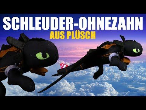 Dragons - Schleuder Ohnezahn Plüsch - Unpacking & Review - Soaring Toothless