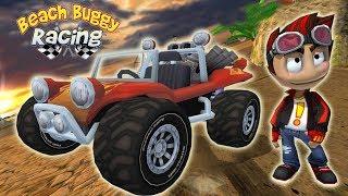 Для детей развивающие игры супер прохождение гоночной игры Beach Buggy Racing Серия 1