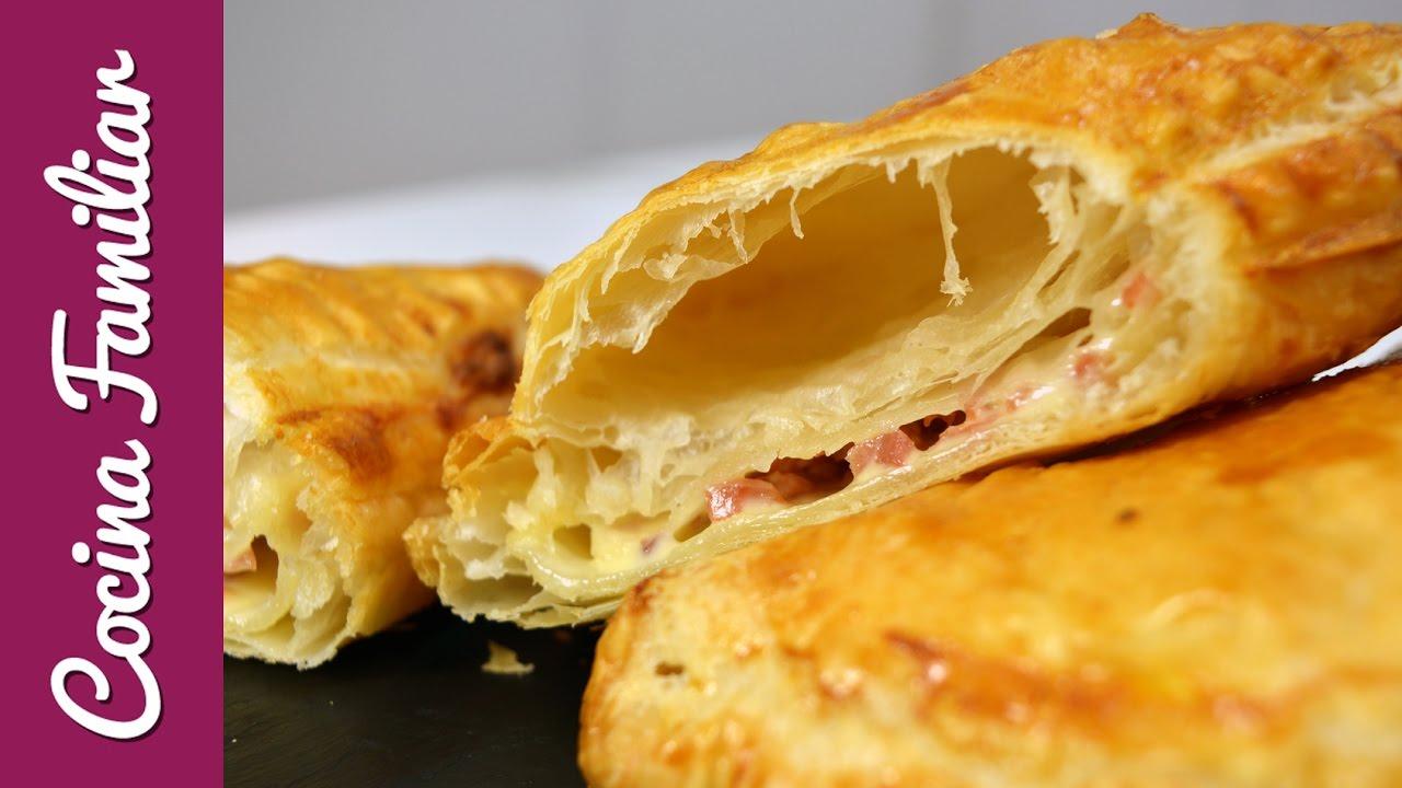 Hojaldre con queso y virutas de ibérico | Javier Romero Cap. 26  - Temporada 2