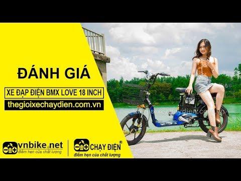 Đánh giá xe đạp điện Bmx Love 18 inch