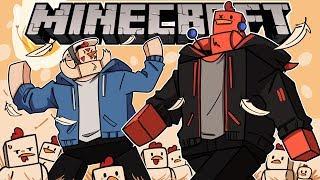I BUILT AN *EPIC* ROYAL DEATHRUN! | Minecraft (w/ H2O Delirious