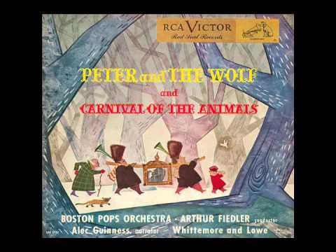 Peter and the Wolf (RCA Victor LM-1761) - Alec Guinness