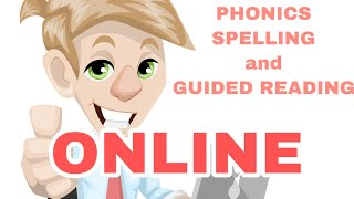 HOW I TEACH PHONICS_SPELLING AND GUIDED READING ONLINE | A WALK THROUGH | FRIENDLY MISS J