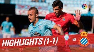 Resumen de RC Celta vs RCD Espanyol (1-1)