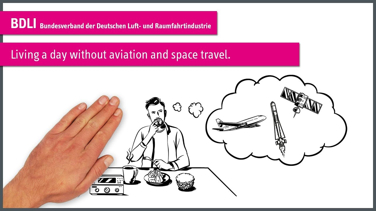 """Living a day without aviation and space travel."""