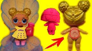 САМЫЙ НОВЫЙ ЛОЛ РАКУШКА! НАС ОБМАНУЛИ! Куклы LOL DOLLS PEARL Surprise/Fake