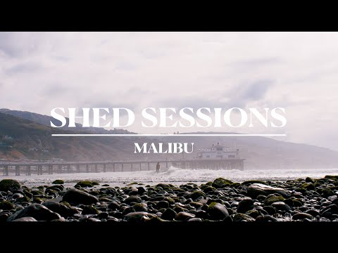 Perillo, Meador and the Brothers Marshall Revive Classic Surfcraft at Malibu | Shed Sessions