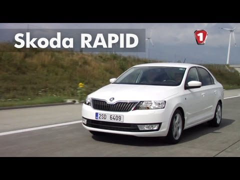 Skoda  Rapid Лифтбек класса B - тест-драйв 2