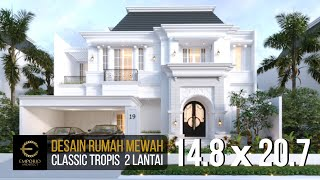 Video Mr. A Classic House 2 Floors Design - Bintaro, Jakarta