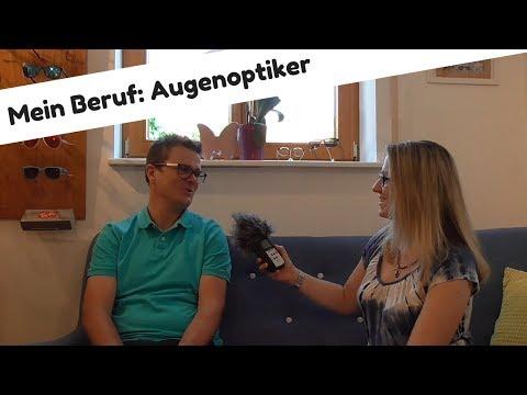 Mein Beruf: Augenoptiker   Interview über Ausbildung und Arbeitsalltag