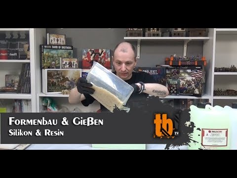 Formenbau & Gießen mit Silikon und Resin [TB-TV #115]