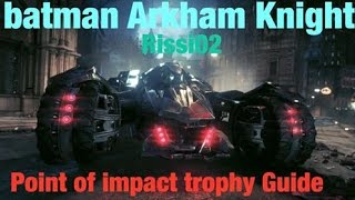 batman arkham knight xbox one achievement guide