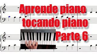Tocando manos cruzadas en el piano  Aprende piano tocando piano (Parte 6)