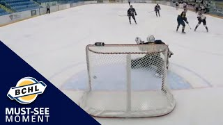 Must See Moment: John Evans wins it in overtime for West Kelowna