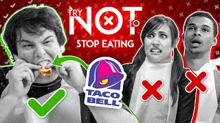 Try Not To STOP EATING | Who Can Eat More Tacos? MEN vs. WOMEN (*WORLD RECORD*)