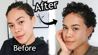 Curly Hair Routine For HAIR GROWTH. How I Grew My Curly Pixie FAST.
