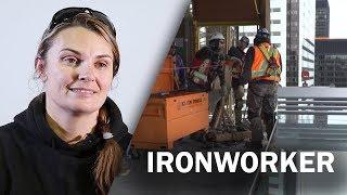 Job Talks   Ironworker   Jamie McMillan Talks About Skilled Trades In This Job Talk
