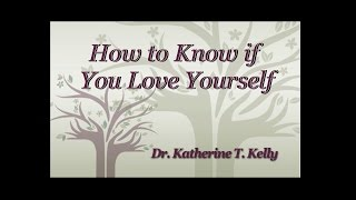 How to Know if You Love Yourself