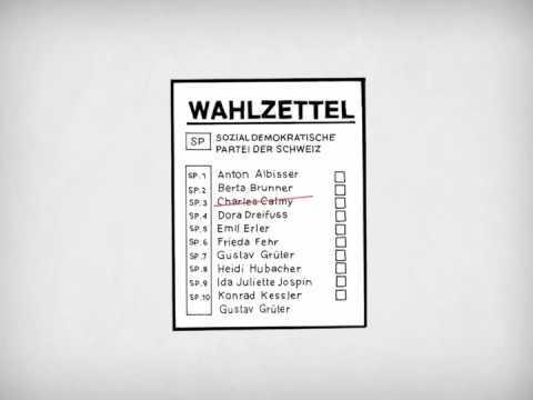 Kanton Luzern: Am 23. Oktober SP-Liste 4 wählen!
