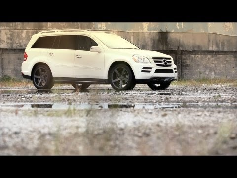 "Mercedes Benz GL450 on 22"" Vossen VVS-CV3 Concave Wheels / Rims"