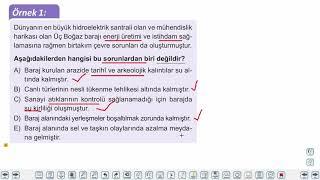 Eğitim Vadisi 11.Sınıf Coğrafya 23.Föy Doğal Kaynak Kullanımının Çevresel Etkileri 1 Konu Anlatım Videoları