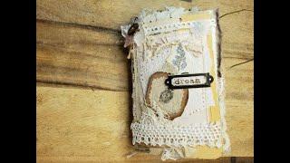 Junk Journal Handmade Journal Flip Through Dream